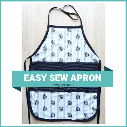 How to sew a 'One Size Fits All' Apron - Sew Gui