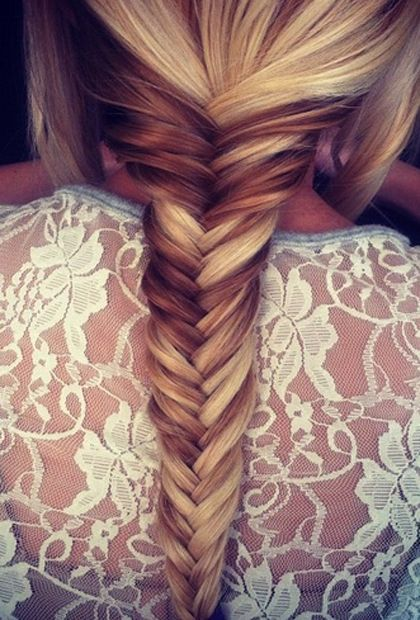 How to Do a Fishtail Braid in 5 Easy Steps | Hair styles, Long .