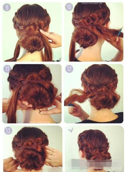Step by Step Updo Hairstyles