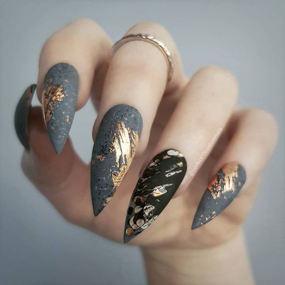 70+ Cool Stiletto Nail Ideas You'll Love to Try (With images .