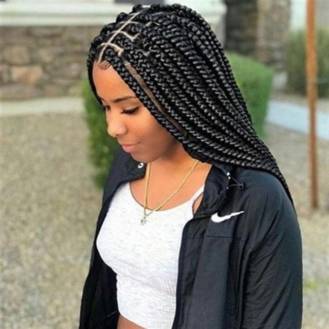 Best Box Braid Hairstyles You Will Love & How To Care For Box .