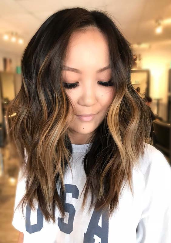 Stunning Brunette Balayage Hair Colors Highlights for 2018 | Stylez
