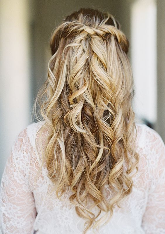40 Stunning Half Up Half Down Wedding Hairstyles with Tutorial .