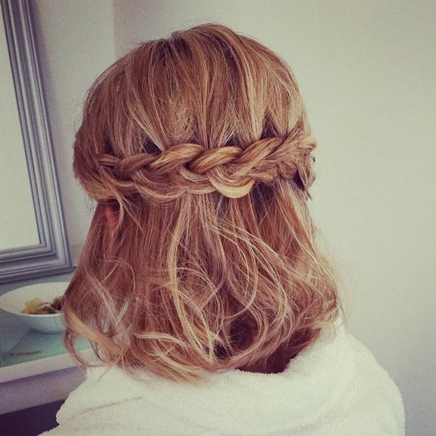 26 Stunning Half Up, Half Down Hairstyles | Cute hairstyles for .
