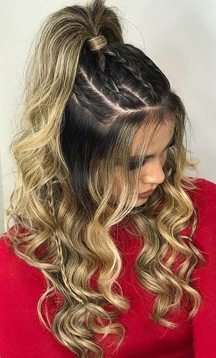 63 Stunning Prom Hair Ideas for 2020 | Thick hair styles .