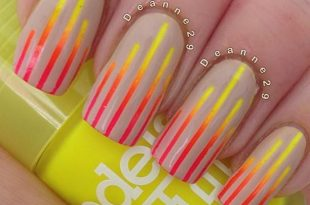 15 Stunning Neon Nail Designs to Rock | Designer nagels .
