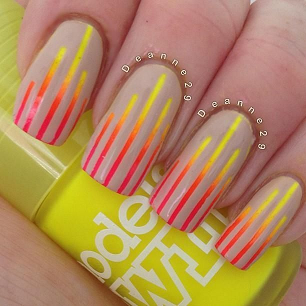 Stunning Neon Nail Designs to Rock