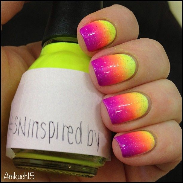 15 Stunning Neon Nail Designs to Rock | Neon nail designs, Neon .