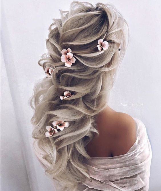 Bridal Fashion: Stunning Wedding Hairstyles – 2019 | Elegant .
