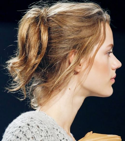 Stunning Windswept Updo You Won't Miss | Hair lengths, Mid length .