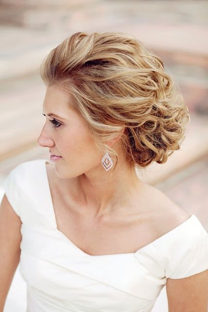 Beautiful Wedding Updos For Long Hair | Mother of the bride hair .