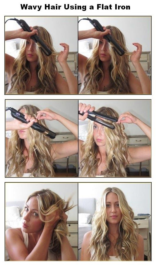 Style a Curly Hair with Your Flat Iron | Hair beau