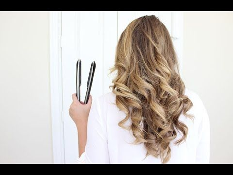 How to curl your hair with a flat iron | How to curl your hair .