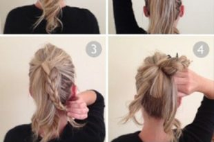 15 Stylish Buns for Your Long Hair - Pretty Desig