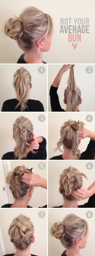 Stylish Buns for Your Long Hair