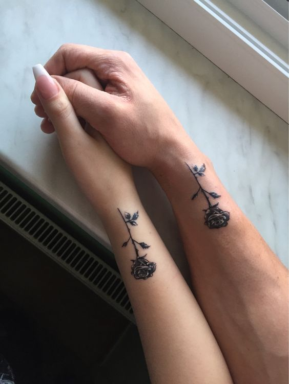 54 Small Meaningful Tattoos For Women - Page 4 of 6 | Rose tattoo .