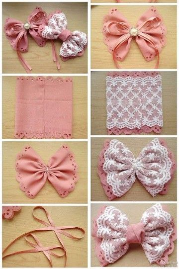 Best bow tutorials - learn to make stylish bows - MyKingList.com .