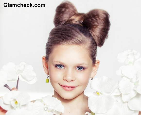Cute Hair Bow Tutorial for Little girls | Girl haircuts, Cute long .
