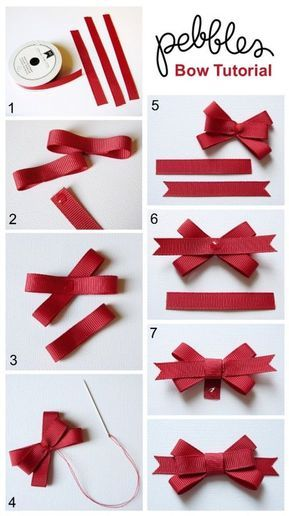 Best bow tutorials - learn to make stylish bows | Diy bow, Diy .