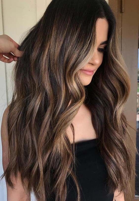 30 Balayage Highlights for an Ultimate Stylish Look   Cool hair .