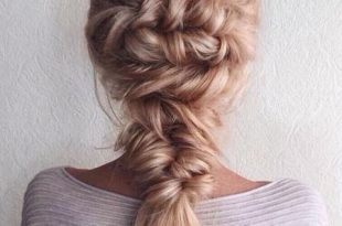 Stylish Mermaid Braids Hairstyles Ideas 2018 | Prom hairstyles for .