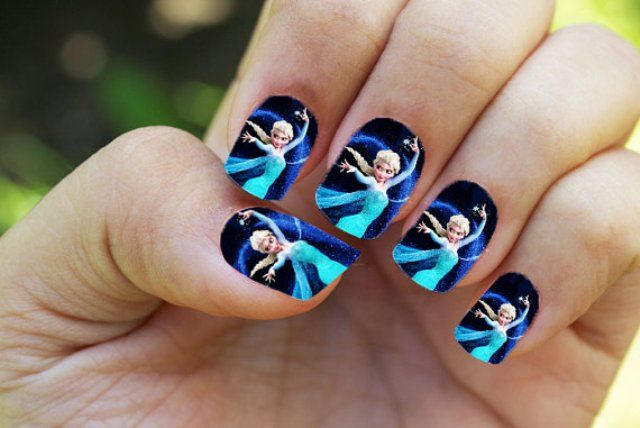 15 Most Attractive Kids Nail Designs for Inspiration | Nail art .