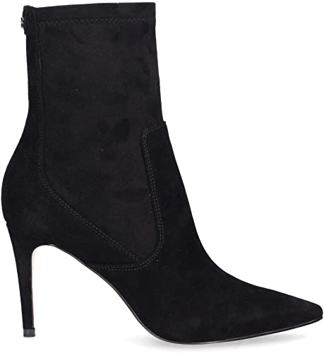 Amazon.com | GUESS Luxury Fashion Womens FLBOO4 Black Ankle Boots .