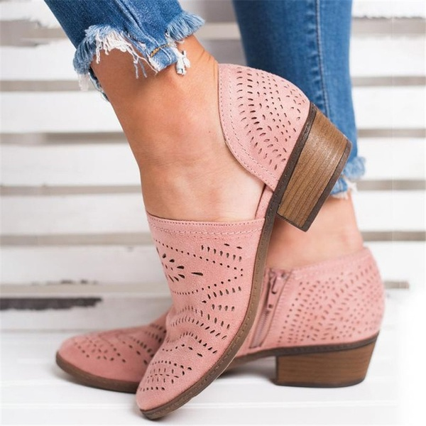 Spring Summer New Fashion Womens Comfortable Breathable Shoes Faux .