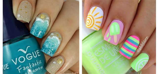 15 Summer Beach Nail Art Designs & Ideas 2016 | Fabulous Nail Art .
