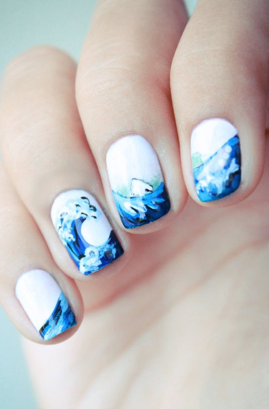 Summer Beach Nails You Won't Miss - Pretty Desig