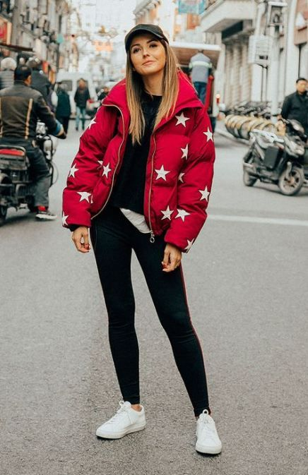 How To Wear Red Sneakers Street Style Casual 54+ Best Ideas .