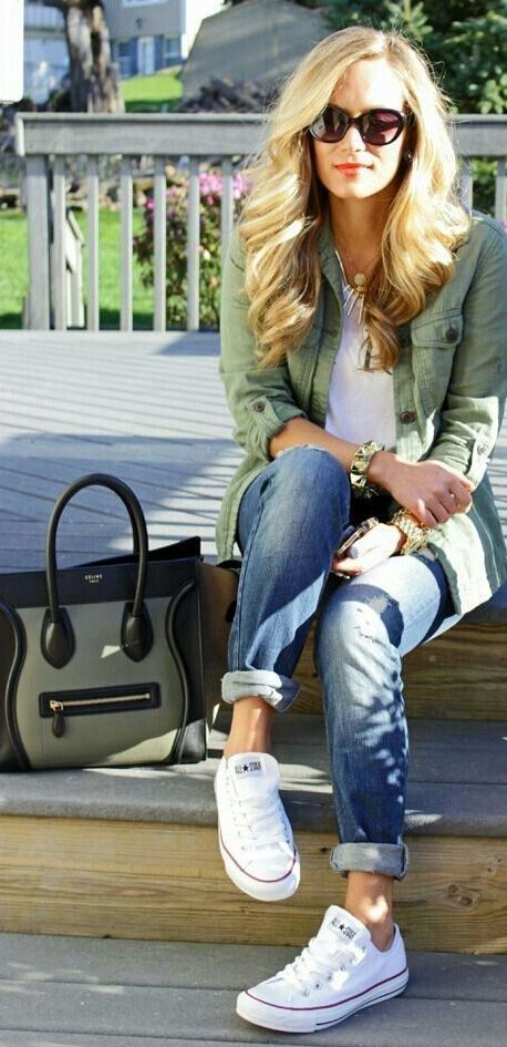 20 Super Casual Styles with Sneakers - crazyfor