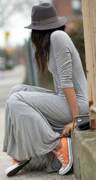 Super Casual Styles with Sneakers
