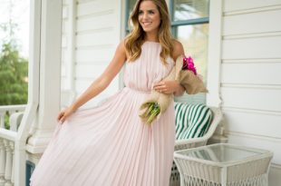 15 Super Charming Pleated Dresses and Skir