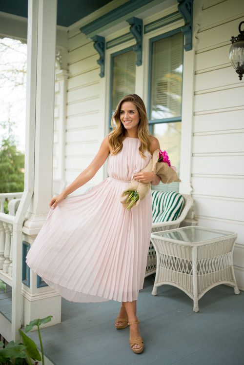 6 Super Charming Pleated Dresses and Skirts | Trendy spring .