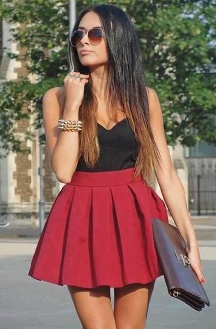 Super cute fit but the Skater skirt is a bit to puffy. Such a .
