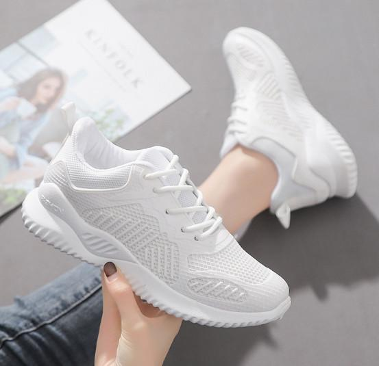 New Korean Version Of Super Hot Chic Pink White Shoes For .