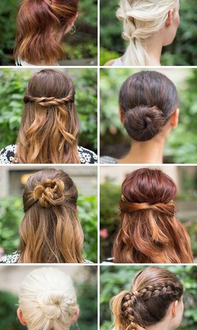 15 Super easy Hairstyles to try! - Hair I Co
