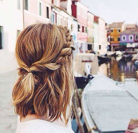 30+ Super Cute Easy Hairstyles for Short Hair | Short Hairstyles .
