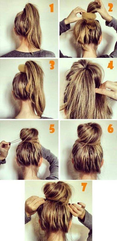 15 Super Easy Hair Hacks For All Us Lazy Girls | Hair styles, Hair .
