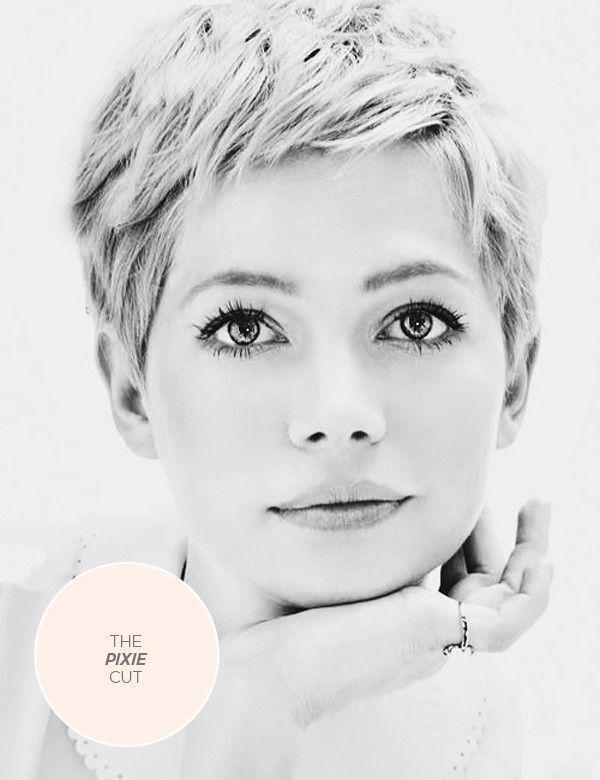 Top 10 Short Haircuts for Round Faces | Pixie haircut for round .
