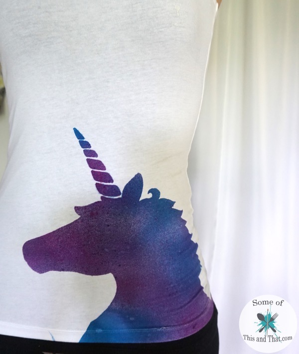 DIY Galaxy Unicorn Shirt! - Some of This and Th