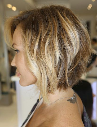 56 Super Hot Short Hairstyles 2019 - Layers, Cool Colors, Curls .