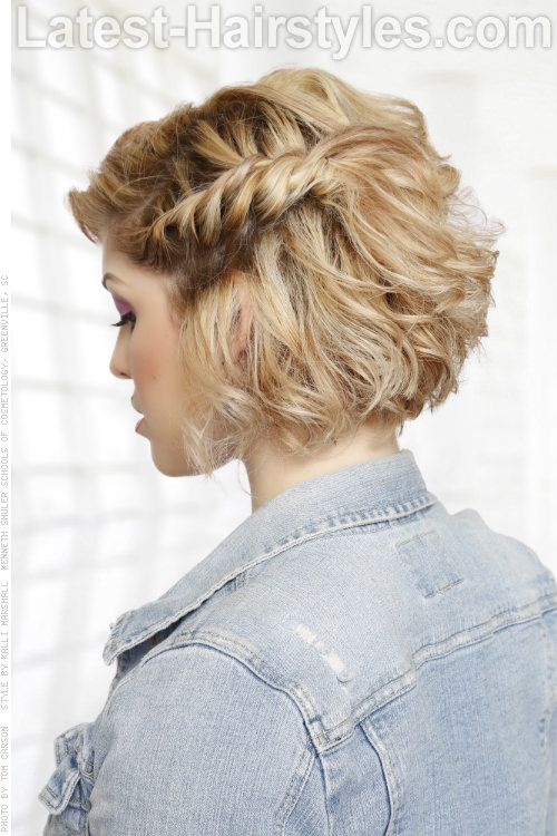 Flaunt These 20 Medium Hairstyles for Summer | Prom hairstyles for .