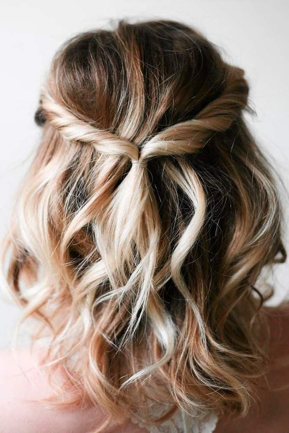 beachy/loose curls I want, but cute style too if braids | Medium .