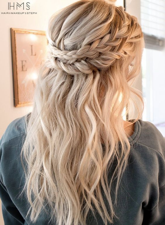 10 Sweet and Simple Braided Hair Tutorials | Cute hairstyles for .