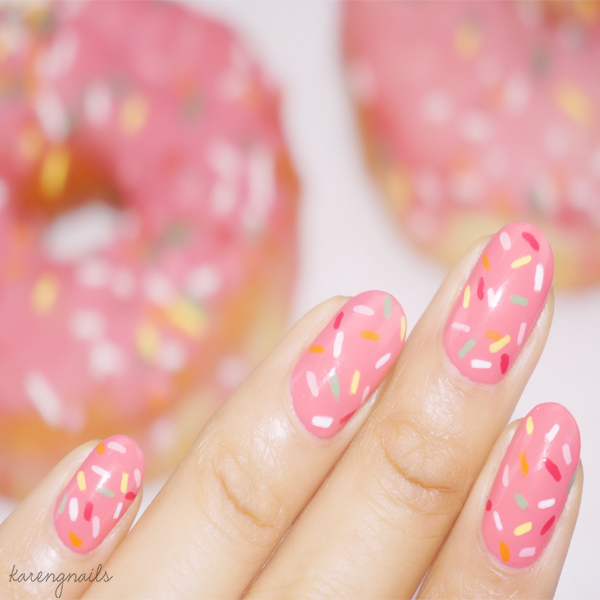 How to Donut Nail Art Tutorial | Karen G Nai