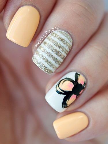 Sweet Spring Nail Art Ideas for Girls