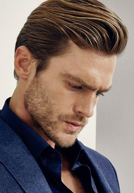 Men's Hairstyles Swept back quiff | Mens hairstyles pompadour .