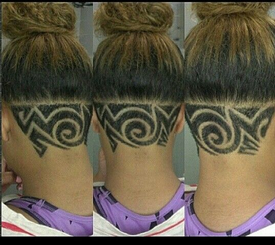 Swirl Hair Designs